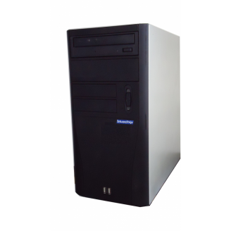 Calculator Bluechip, Intel Dual Core E5200 2.5GHz, 3GB DDR2, 250GB SATA, DVD-RW