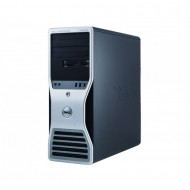 Workstation Dell T5500, Intel Xeon Quad Core E5630 2.53GHz-2.80GHz, 8GB DDR3, 500GB SATA, AMD Radeon HD 7350 1GB GDDR3