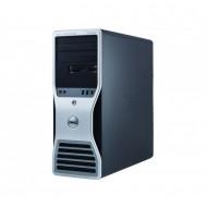 Workstation Dell T5500, Intel Xeon Hexa Core E5645 2.40GHz-2.67GHz, 16GB DDR3, 1TB SATA, nVidia Quadro 4000/2GB