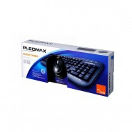 Kit Tastatura + Mouse cu fir, Samsung Pleomax PKC-700B, USB