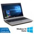 Laptop Hp EliteBook 8560p, Intel Core i7-2620M 2.70GHz, 4GB DDR3, 120GB SSD, DVD-RW, 15.6 Inch, Webcam, Tastatura Numerica + Windows 10 Home