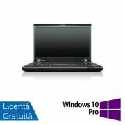 Laptop LENOVO ThinkPad T530, Intel Core i5-3320M 2.60 GHz, 8GB DDR3, 120GB SSD, DVD-RW, 15.6 Inch, Webcam + Windows 10 Pro