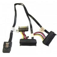 Cablu Dell T3F4V Mini SAS la Dual SAS si Power Cable, 45CM