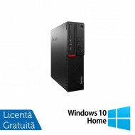 Calculator LENOVO M700 SFF, Intel Core i3-6100 3.70GHz, 4GB DDR4, 500GB SATA + Windows 10 Home