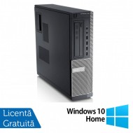 Calculator DELL GX790 Desktop, Intel Core i3-2100 3.10 GHz, 4GB DDR3, 250GB SATA, DVD-ROM + Windows 10 Home