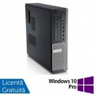 Calculator DELL 790 Desktop, Intel Pentium G840 2.80GHz, 4GB DDR3, 250GB SATA, DVD-RW + Windows 10 Pro