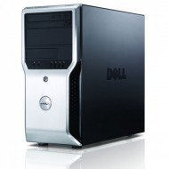 Workstation Dell Precision T1500, Intel Dual Core i3-540 3.06GHz, 4GB DDR3, 250GB HDD, nVidia GT605/1GB, DVD-ROM