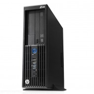 Workstation HP Z230 SFF, Intel Xeon Quad Core E3-1231 v3 3.40GHz-3.80GHz, 8GB DDR3, 500GB SATA, DVD-RW, Placa video Gaming AMD Radeon R7 350 4GB GDDR5 128-Bit