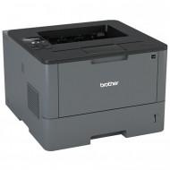 Imprimanta Laser Monocrom Brother HL-L5100DN, Duplex, A4, 40ppm, 1200 x 1200, USB, Retea, Toner si Drum Noi