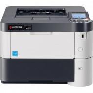 Imprimanta Laser Monocrom Kyocera ECOSYS P3055dn, Duplex, A4, 57ppm, 1200 x 1200dpi, USB, Retea, Fara Unitate Drum si Toner
