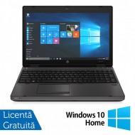 Laptop HP 6570b, Intel Core i5-3230M 2.60GHz, 4GB DDR3, 320GB SATA, DVD-RW, Fara Webcam, 15.6 Inch, Tastatura Numerica + Windows 10 Home