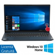 Laptop Nou Lenovo IdeaPad 5 15IIL05, Intel Core Gen 10 i7-1065G7 1.30-3.90GHz, 12GB DDR4, 512GB SSD, 15.6 Inch Full HD IPS LED TouchScreen, Bluetooth + Windows 10 Home (Ambalaj original deschis, webcam nefunctional)