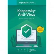 Licenta Retail Kaspersky Anti-Virus - protectie premiata, eficienta si securitate usor de gestionat - valabila pentru 1 an, 1 echipament