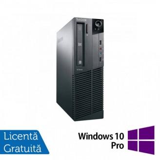 Calculator Lenovo M81 SFF, Intel Core i3-2100 3.10GHz, 8GB DDR3, 120GB SSD, DVD-RW + Windows 10 Pro