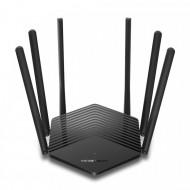 ROUTER MERCUSYS wireless 1900Mbps, 2 porturi LAN Gigabit, 1 port WAN Gigabit, Dual Band AC1900 6 x antena externa, MR50G