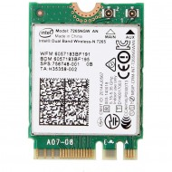 M.2 2230 Intel Wireless-N 7260, Model 7260NGW, 300Mps,  802.11 B/G/N + Bluetooth 4.0 m