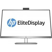 Monitor HP EliteDisplay E243D, 24 Inch Full HD IPS LED, VGA, HDMI, Webcam, USB