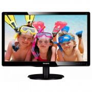 Monitor Philips 200V4Q, 20 Inch Full HD LED, VGA, DVI, Grad A-