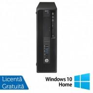 Workstation HP Z240 Desktop, Intel Xeon Quad Core E3-1230 V5 3.40GHz-3.80GHz, 16GB DDR3, SSD 120GB SATA, nVidia K620/2GB, DVD-RW + Windows 10 Home